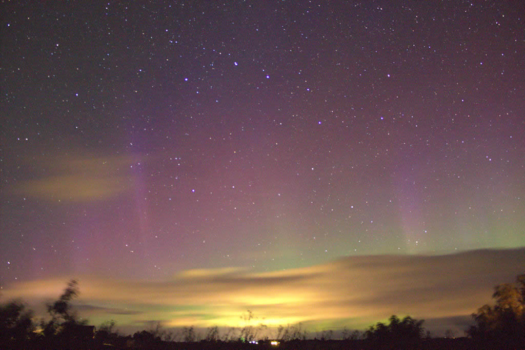 Northern Lights over Caithness